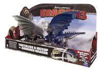 Speelset Dragons Toothless & Hiccup vs. Armored Dragon blauw-Rechterzijde