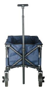 Campman Chariot pliant bleu-Arrière