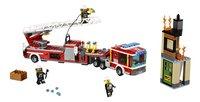 LEGO City 60112 Le grand camion de pompiers-Avant