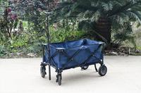 Campman Chariot pliant bleu-Image 1