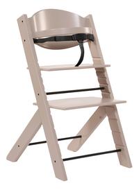Treppy Chaise haute avec coussin réducteur gratuit taupe-Détail de l'article