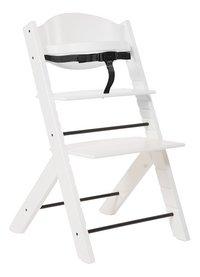 Treppy Chaise haute avec coussin réducteur gratuit blanc-Détail de l'article
