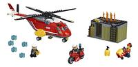 LEGO City 60108 Brandweer inzetgroep-Vooraanzicht