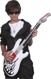 Guitare avec micro Rock'n'roll-Détail de l'article