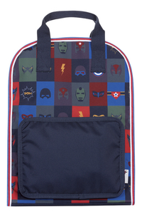 Jack Piers sac à dos Amsterdam Large Superheroes-Avant