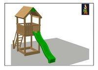 Fox play tour de jeu en bois Baltimore-Détail de l'article