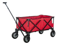 Campman Chariot pliant rouge
