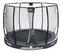 EXIT inbouwtrampoline met veiligheidsnet Elegant Ground Premium Deluxe Ø 3,05 m zwart-Artikeldetail