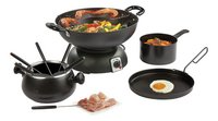 Domo Wok et fondue DO8707W Party Set 4 en 1 DO8707W