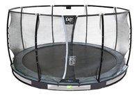 EXIT inbouwtrampoline met veiligheidsnet Elegant Ground Premium Deluxe Ø 3,66 m zwart-Artikeldetail