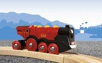 BRIO World 33592 Grote rode locomotief op batterijen-Afbeelding 1