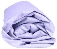 Sleepnight Drap-housse hauteur des coins 25 cm lilas en coton 180 x 200 cm-Détail de l'article