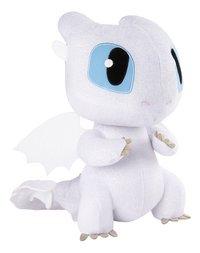 Peluche Dragons Squeeze & Growl Light Fury-Côté gauche