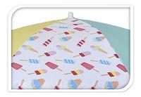Parasol de plage Ø 176 cm glaces jaune-Détail de l'article