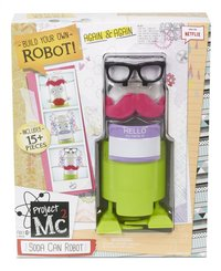 Project Mc² set de jeu Soda Can Robot Kit-Avant