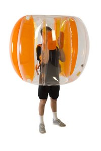 Zuru boule de butoir X-Shot Bubble Ball orange-Image 1