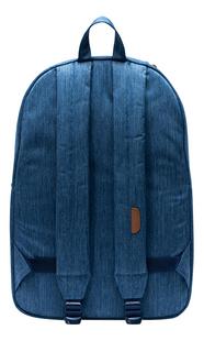 Herschel rugzak Heritage Faded Denim/Indigo Blue-Achteraanzicht