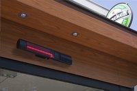 Chauffage de terrasse électrique Golden Tube Schott Glass 1500 W-Image 1
