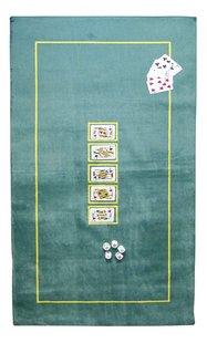 Pokermat 150 x 75 cm groen