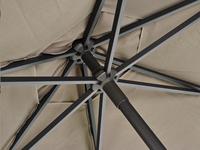 Ocean Parasol Bonair aluminium diameter 2,5 m taupe-Artikeldetail