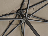 Ocean Parasol Bonair aluminium 2,5 m taupe-Artikeldetail