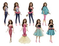 Barbie set de jeu Fashion Mix 'N Match Brunette-Détail de l'article