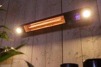 Elektrische terrasverwarmer Ellips 1500 W zwart-Afbeelding 2