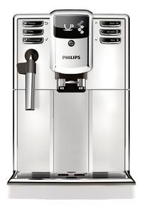 Philips Machine à espresso automatique avec mousseur à lait Series 5000 EP5311/10 blanc-Avant