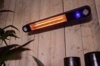 Chauffage de terrasse électrique Ellips 1500 W noir-Image 3