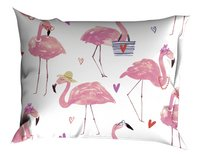 Satin d'Or Dekbedovertrek Flamingo katoensatijn 200 x 220 cm-Artikeldetail