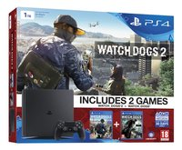 PS4 console New 1 To + Watch dogs 1 et Watch dogs 2