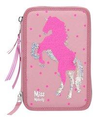 Gevulde pennenzak Miss Melody roze-Artikeldetail