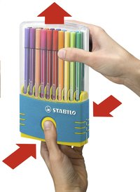 STABILO viltstift Pen 68 Color Parade turkoois - 20 stuks-Artikeldetail
