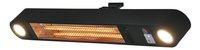 Chauffage de terrasse électrique Ellips 1500 W noir-Côté droit