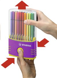 STABILO viltstift Pen 68 Color Parade fuchsia - 20 stuks-Artikeldetail