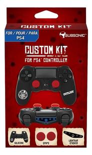 Subsonic Custom Kit Outlaw PS4 controller-Vooraanzicht