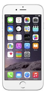 Apple iPhone 6 Plus 16 GB zilver-Vooraanzicht