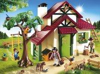 Playmobil Country 6811 Boswachtershuis-Vooraanzicht