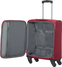 American Tourister Zachte reistrolley San Francisco Spinner red 55 cm-Artikeldetail