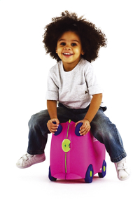 Trunki valise TrunkiRide-on Trixie rose-Image 1