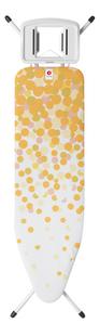 Brabantia Planche à repasser Celebration jaune/blanc B pour fer-commercieel beeld