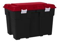 Allibert Opbergbox Explorer zwart/rood 185 l