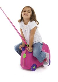 Trunki harde trolley TrunkiRide-on Trixie roze-Afbeelding 2