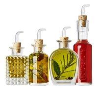 Luigi Bormioli Set à huile et à vinaigre Mixology Elixir 4 pièces-Image 1