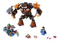 LEGO Nexo Knights 70325 Infernox neemt de Koningin gevangen-Vooraanzicht