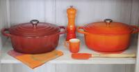 Le Creuset Ovale stoofpan Signature oranjerood 31 cm - 6,3 l-Afbeelding 1