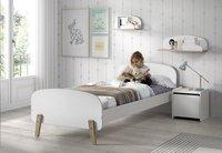 Vipack table de nuit Kiddy blanc-Image 2