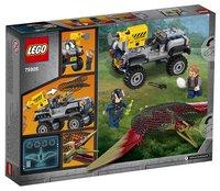 LEGO Jurassic World 75926 La course-poursuite du Ptéranodon-Arrière