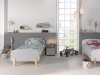 Vipack table de nuit Kiddy blanc-Image 4