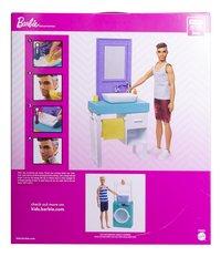 Barbie Ken et le lavabo-Arrière